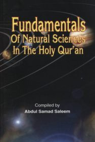 Fundamentals of Natural SCIENCE in The Holy Qur'an